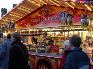 German Stall - Lincoln Christmas Market