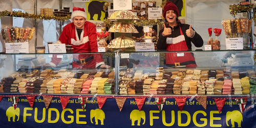 Old Elephant Fudge stall