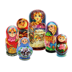 Various Russian Doll's