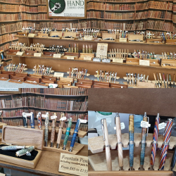 Hand Turned Pens stall