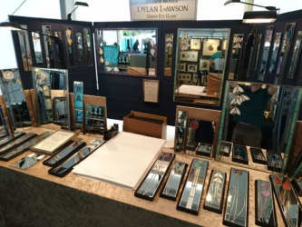 Lawson Glassworks stall
