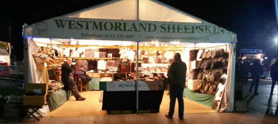 Westmorland Sheepskins Ltd stall