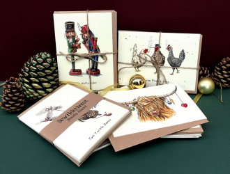 Examples of Bewilderbeests Christmas Cards