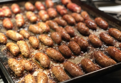 Glazed Cocktail Sausages